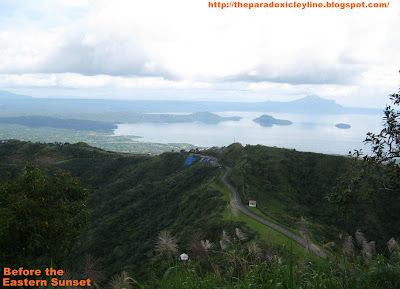 People's Park Tagaytay - View of Taal Lake.