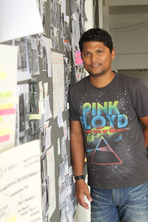 Prof. Pushkar - product designer, educator