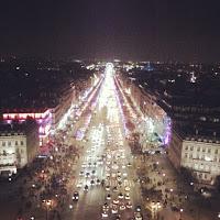 Champs-Élysées from the Arc de Triomphe, Paris