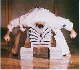 gambar tekanan karate balok