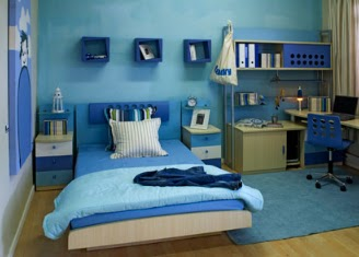 Fine Blue Bedroom For Boys Inspiration