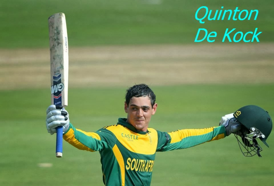 Quinton De Kock Against India Photos`Images 2013/14 ... Quinton De Kock 2013