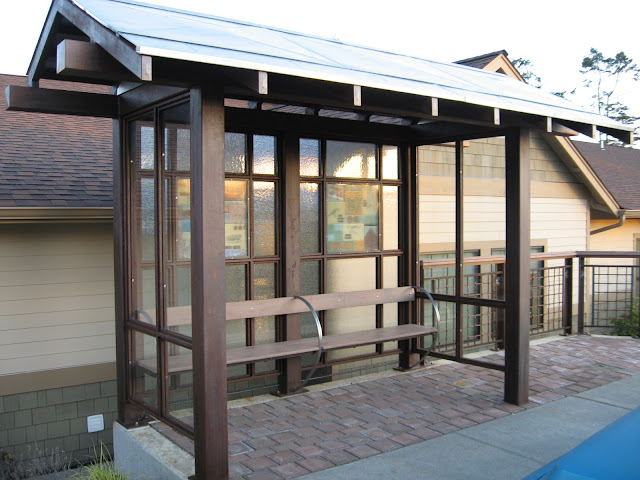 Steel Bus Shelters : Heavy metal works bus stop shelter island tranist