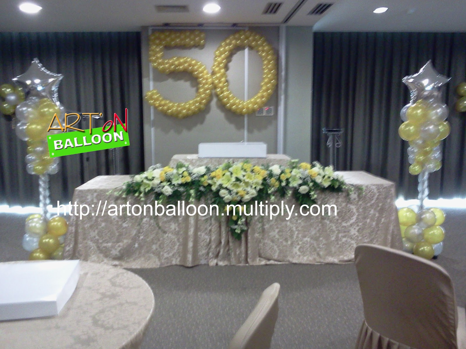 Art 39 on balloon dekorasi balon for Dekor ulang tahun