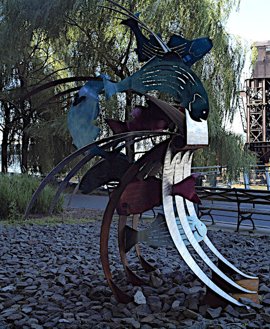 #publicart, Anne Stanner, Wave, Riverside Park, New York City, #M2M #modelstomonuments