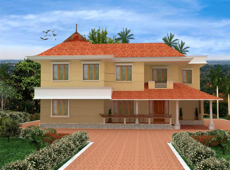 Ente veedu ente veedu new elevationplan 13276 for Veedu elevation