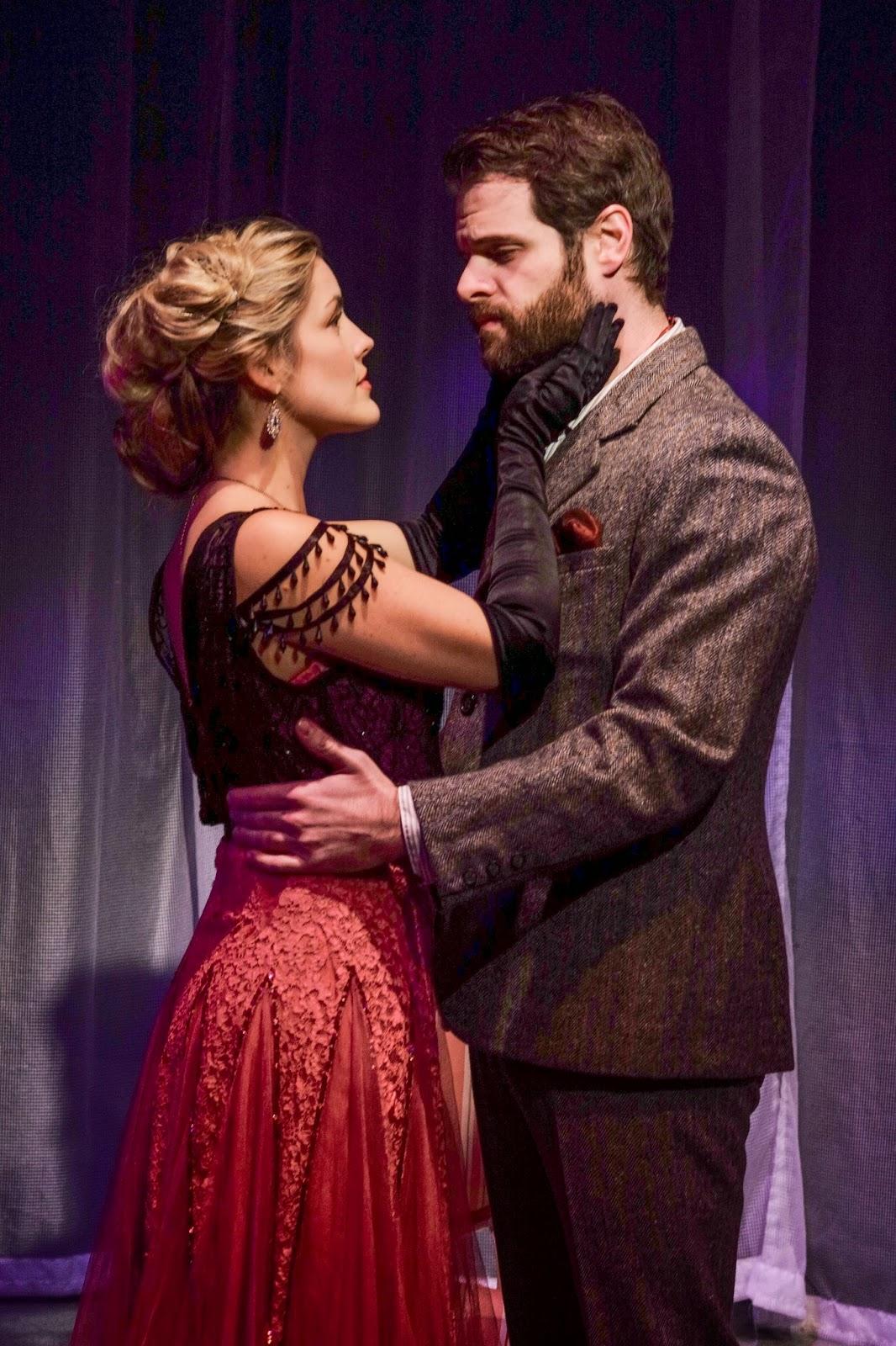 mollie vogt welch as lily and cole burden as archibald craven - The Secret Garden Musical