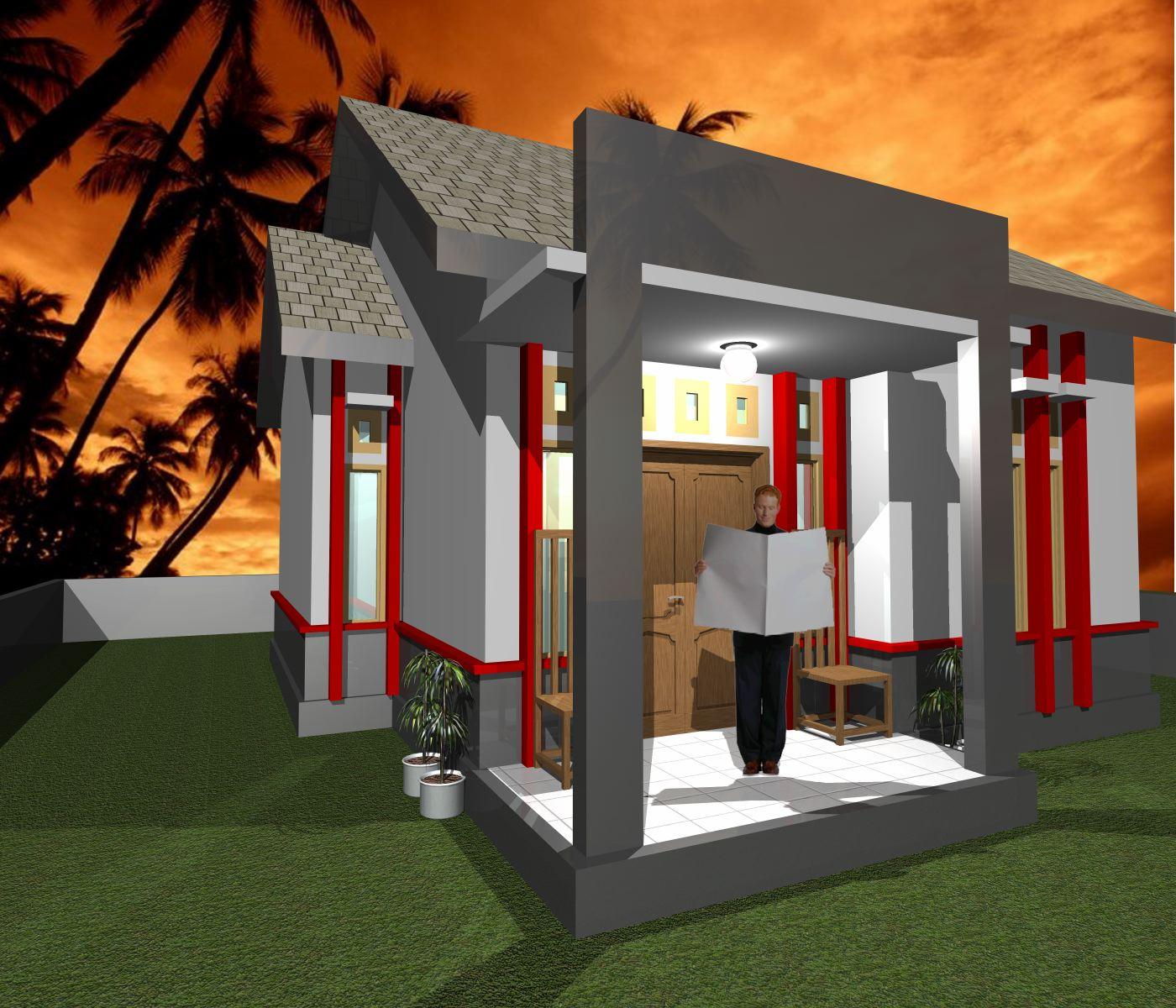 rumah minimalis modern 1 lantai 2014