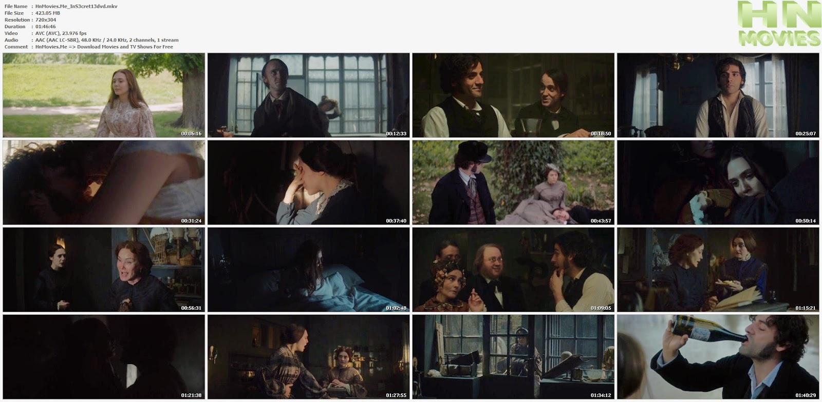 movie screenshot of In Secret fdmovie.com