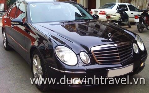 Cho thuê xe cưới Mercedes E240 của thương hiệu xe cưới Đức Vinh 2