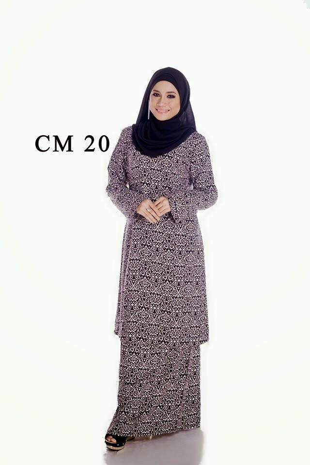Milla Baju Kurung Cotton Moden 20