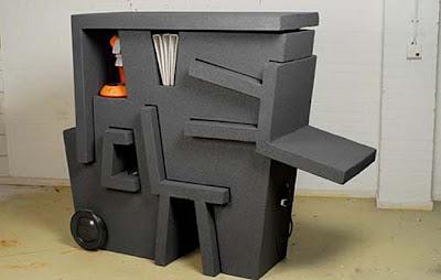 Cool: Set Meja Pejabat Mudah Alih oleh Tim Vinke (10 Gambar)