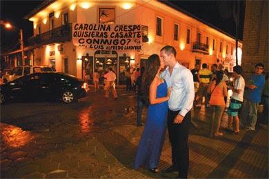 Carolina crespo y luis alfredo land var se casan este s bado 8 en la iglesia hamacas bodas - Hamacas crespo ...