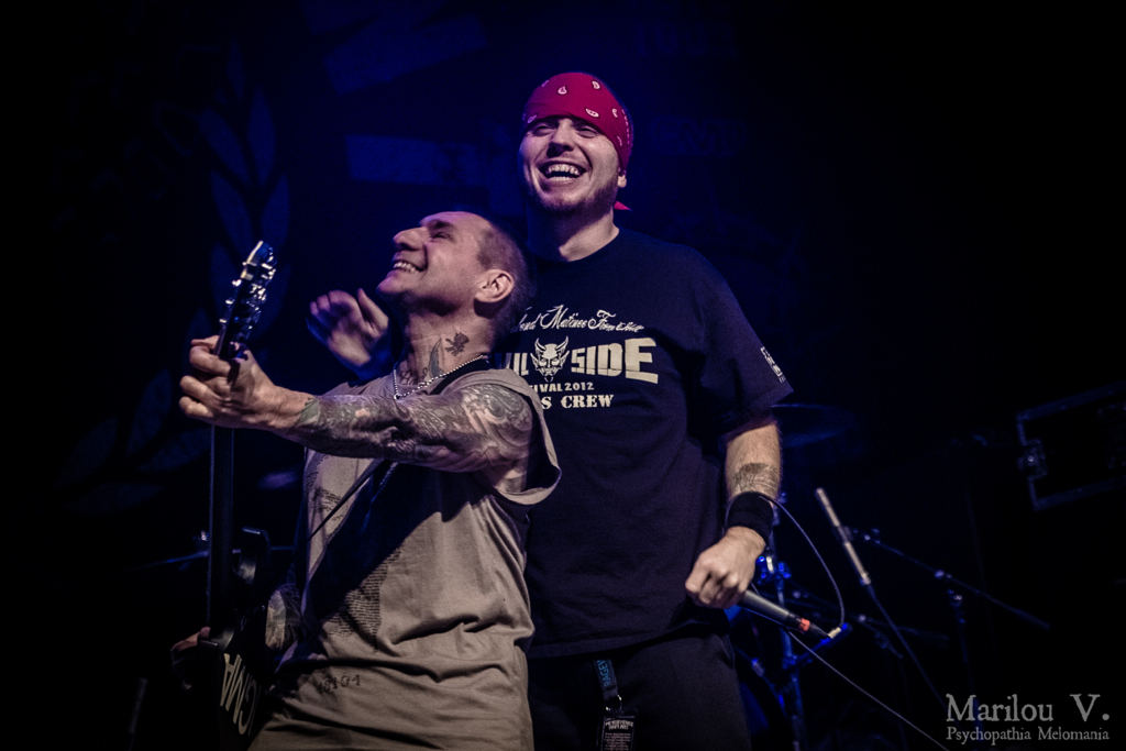 Vinnie Stigma & Jamey Jasta (Agnostic Front & Hatebreed)