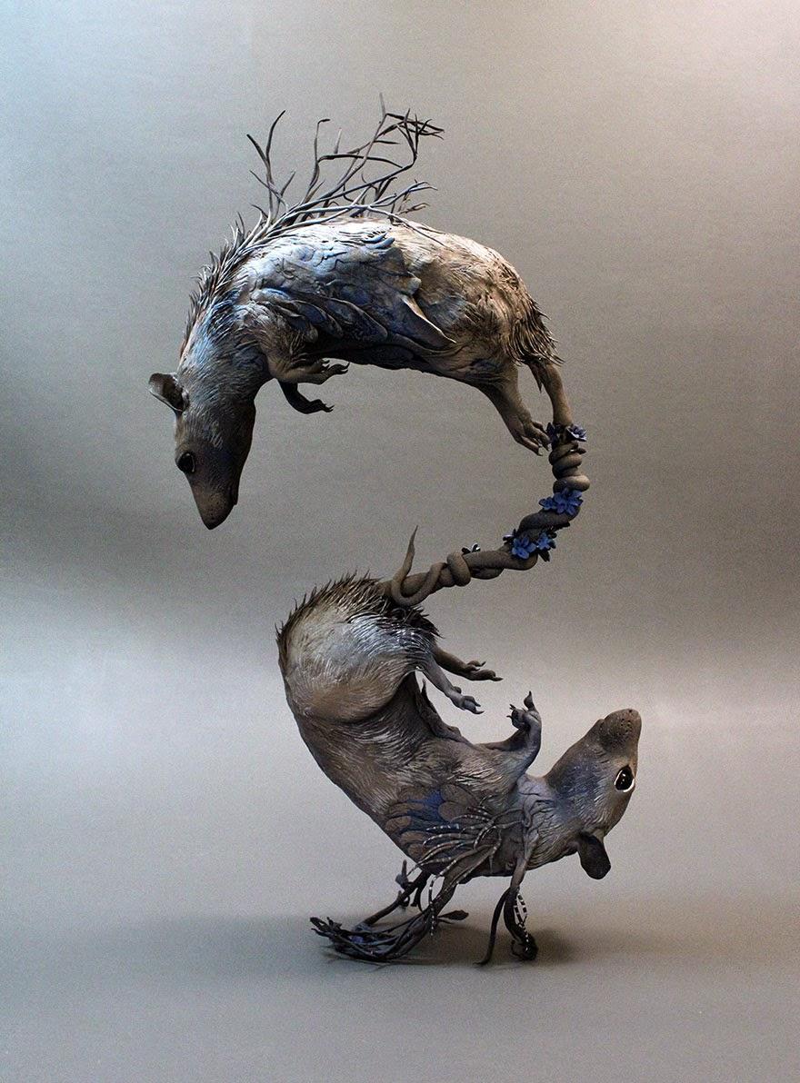 Surreal Sculptures by Ellen Jewett-7