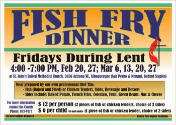 Bread new mexico blog why a bowl of beans could be just for Fish on fridays during lent