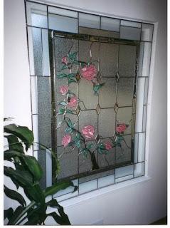 رسم الزجاج