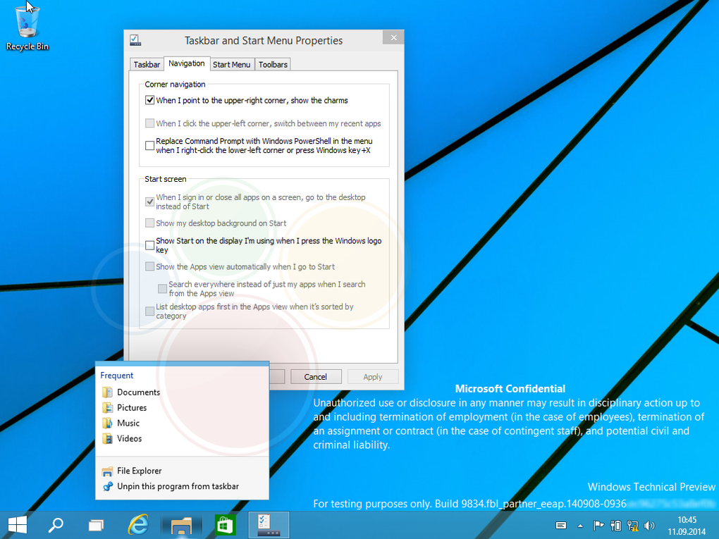Windows 9 Technical Preview Screenshots Revealed: A Sneak Peek of The Future Windows OS
