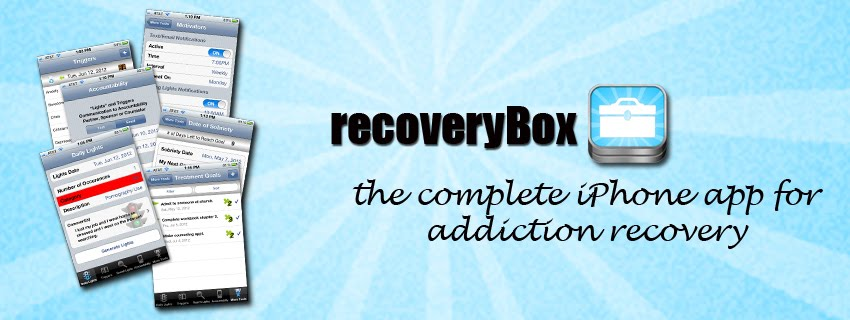 iPhone App for Addiction Recovery 
