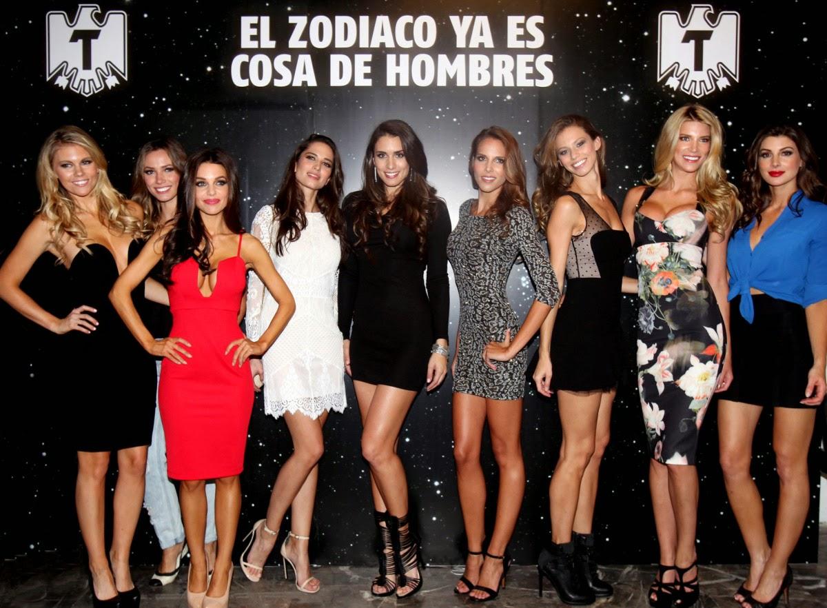 Calendario Tecate 2015 - El Zodiaco ya es cosa de Hombres