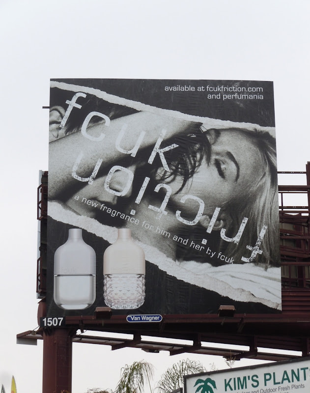 FCUK Friction billboard