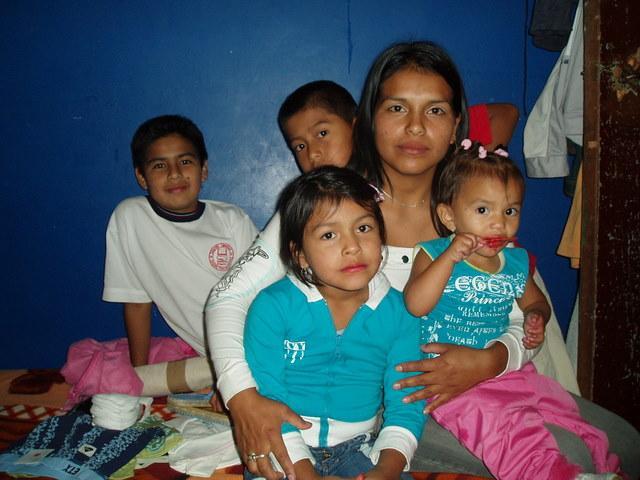 Madres solteras en honduras