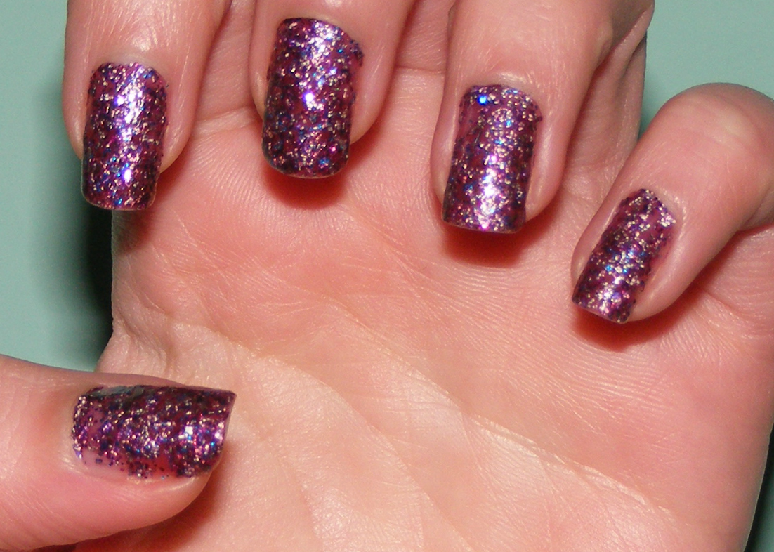 Nails of the day notd diy glitter nail polish cosette 39 s beauty pantry - What to do with nail polish ...