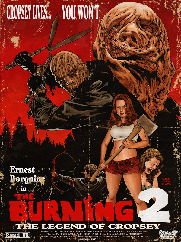80's Horror Movies: The Burning 2 Limited Edition Print