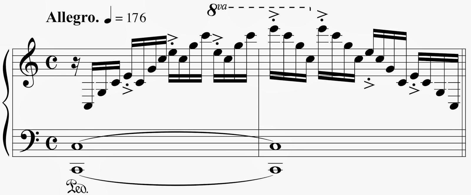 music composition weblog idiomatic writing for piano re post chopin etude op 10 no 1 hexwebz Gallery