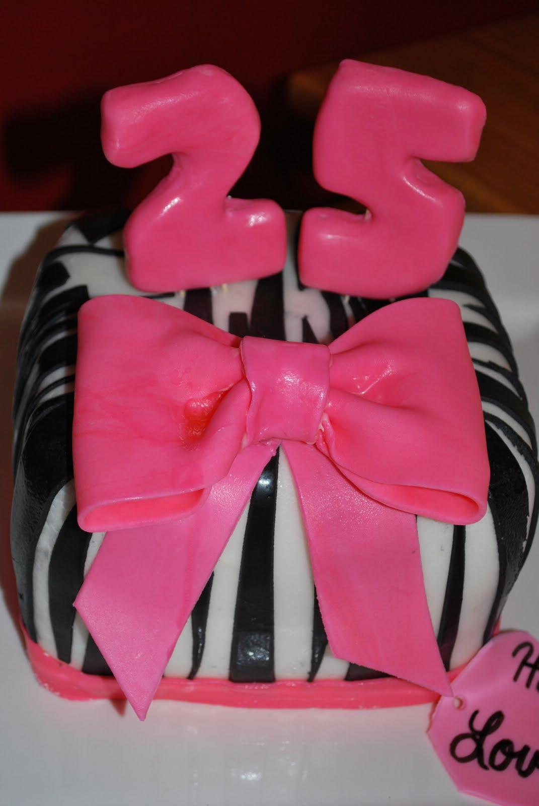 Sweet Confections By Amanda Zebra Birthday Cake