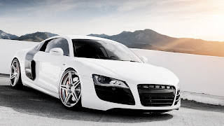AUDI_R8_White_tuning_chrome_22-24_inch_weels_speed_HD_desktop_background_epic_Wallpaper