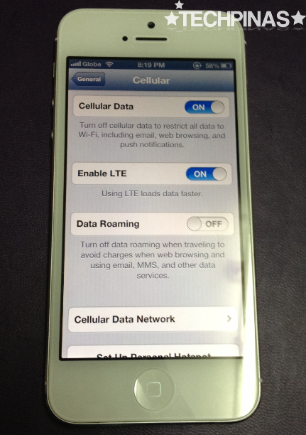 iphone5 ios 6.1