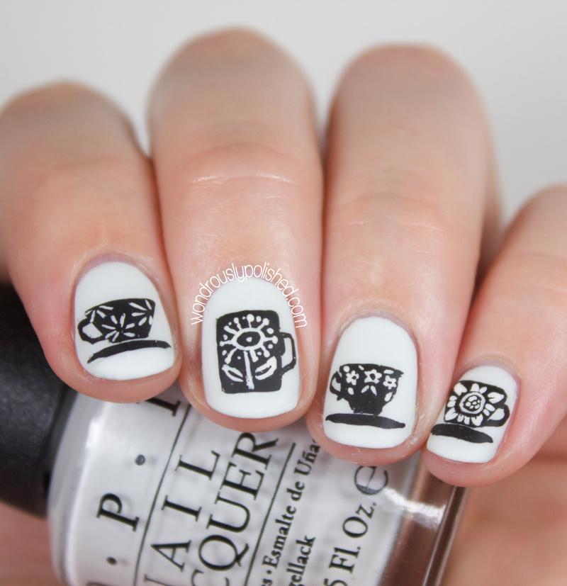 Wondrously Polished 31 Day Nail Art Challenge: Wondrously Polished: 31 Day Challenge 2.0, Day 5