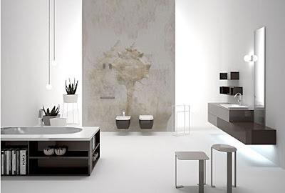 decoración estilo minimalista baño