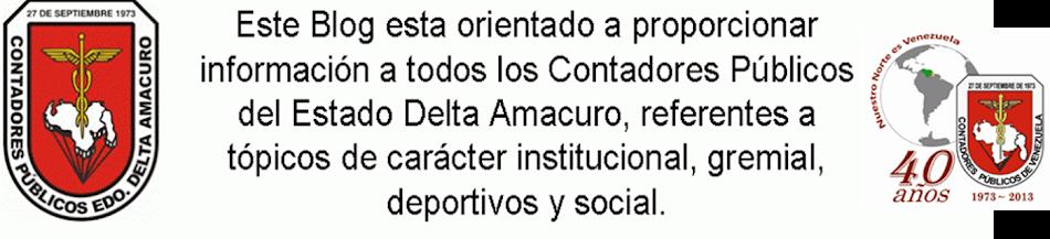 Colegio de Contadores Públicos Delta Amacuro