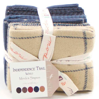 Moda INDEPENDENCE TRAIL WOOL Quilt Fabric by Minick & Simpson