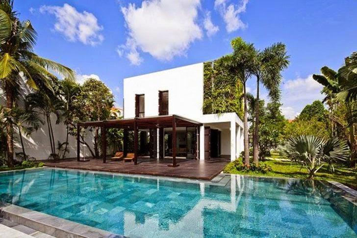Desain Rumah Modern Dengan Gaya Kantemporer