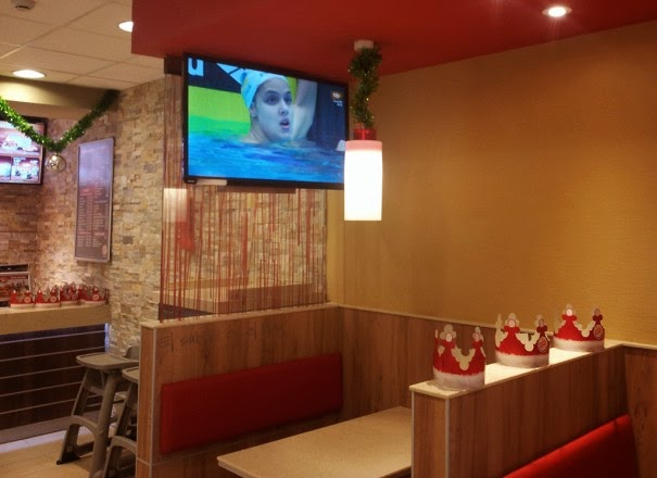 digital signage en Burger King