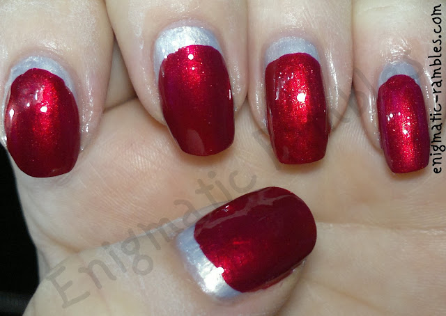 enigmatic-rambles-tri-colour-nail-challenge-leighton-denny-be-my-berry-primark-glo-baby-glo-ruffian-manicure