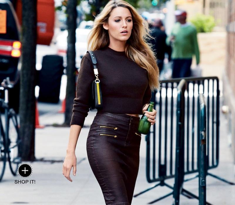 Blake Lively Fashion Editorial