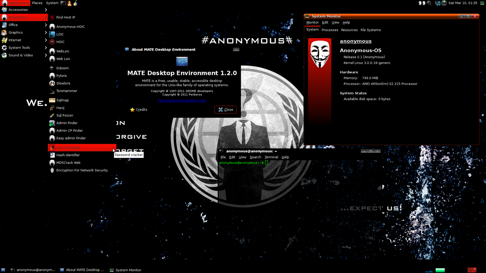 Anonymous Os 0 1 Anonymous Hackers Released Their Own