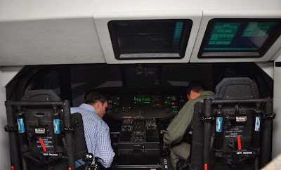 Simulador UH-60 fuerza aerea colombiana