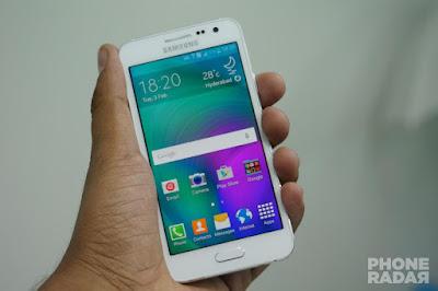 Samsung A3 putih