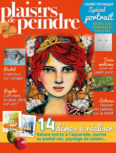 Ma dernière parution : Plaisirs de Peindre n°67 (sept./oct. 2017)
