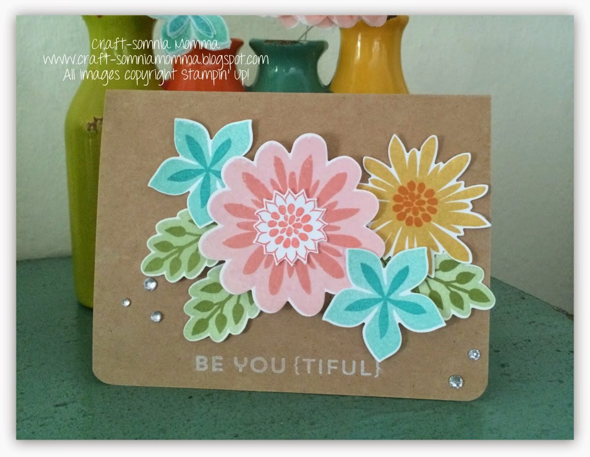 Craft somnia Momma Playing Around in my Flower Patch Stylin Stampin&