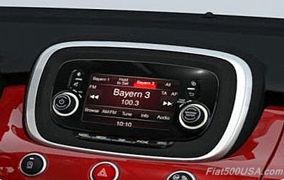 Fiat 500X Uconnect 5.0 Radio
