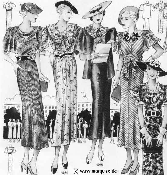 jaren dertig kleding