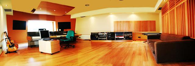 sala de grabación estudio la casa murada