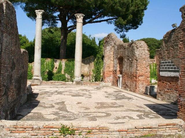 Ostia Antica: abitare nell'antica città portuale *Secondo percorso dal Macellum a porta Marina passando x la Sinagoga.