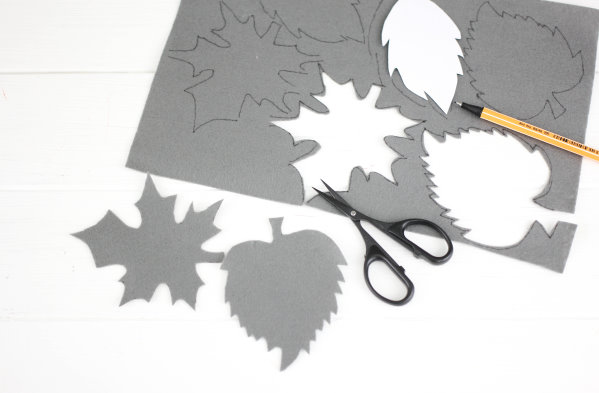 Anleitung: Herbstgirlande basteln